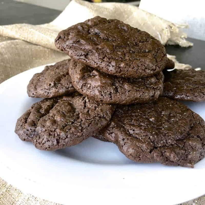 [生酮甜點] 無麵粉無糖美式巧克力豆餅乾(5克碳水)一盆到底超簡單