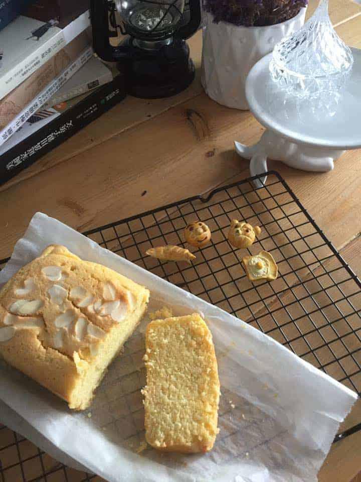 檸檬藍莓磅蛋糕 生酮