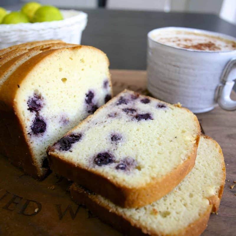 [生酮甜點] 檸檬藍莓磅蛋糕(低碳無糖無麩質,淨碳水<4g)