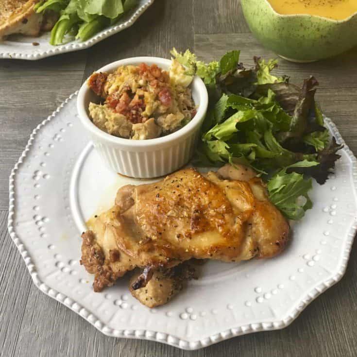 照燒雞腿排 &自製無糖照燒醬- 簡易晚餐15分鐘上菜- 低碳生酮晚餐