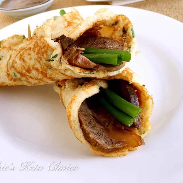 [中式生酮食譜] 生酮牛肉大餅 &滷牛腱(壓力鍋)&無糖甜麵醬
