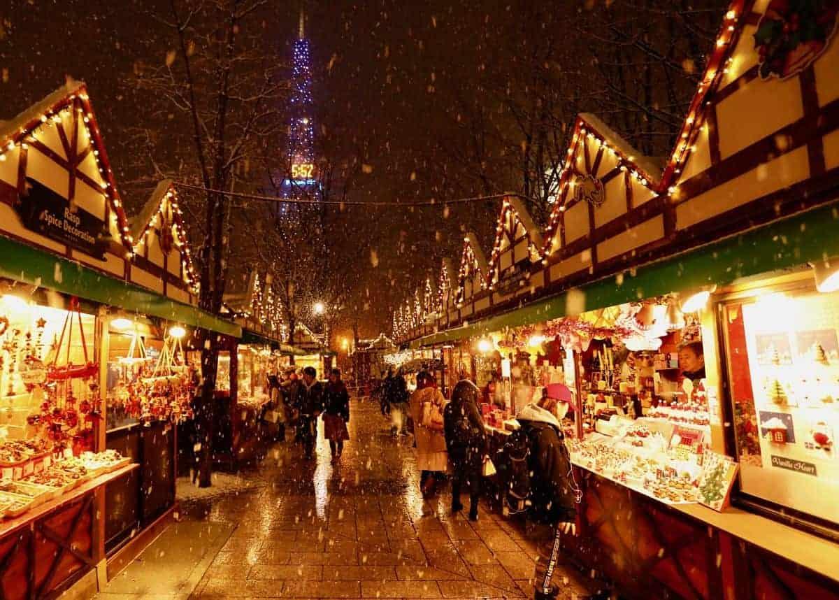 北海道的聖誕市集