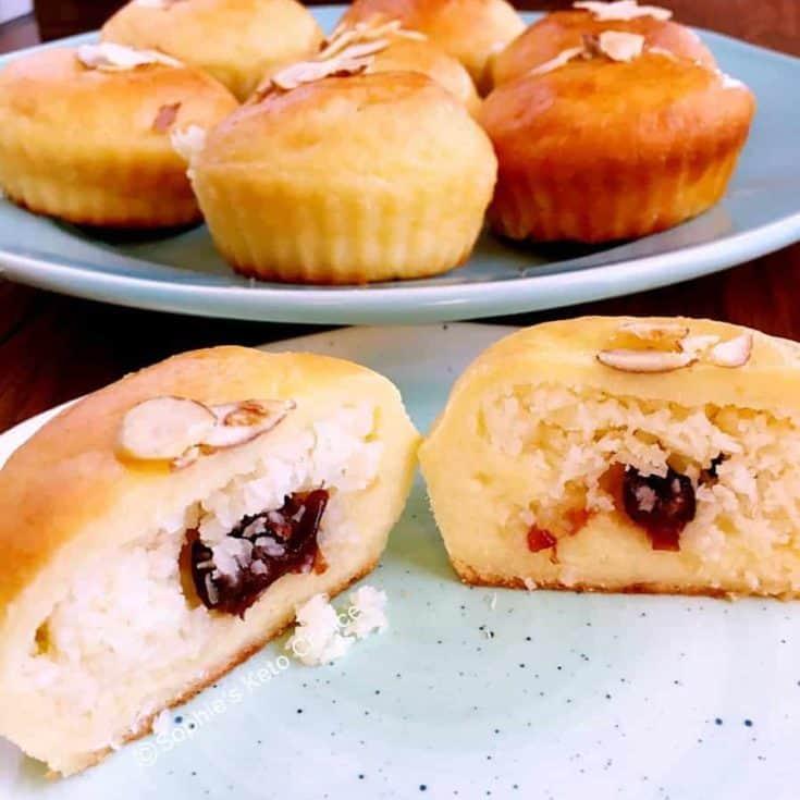 [生酮麵包] 椰子奶酥麵包 Keto Coconut Bun -台式麵包變身低碳無糖無麩質