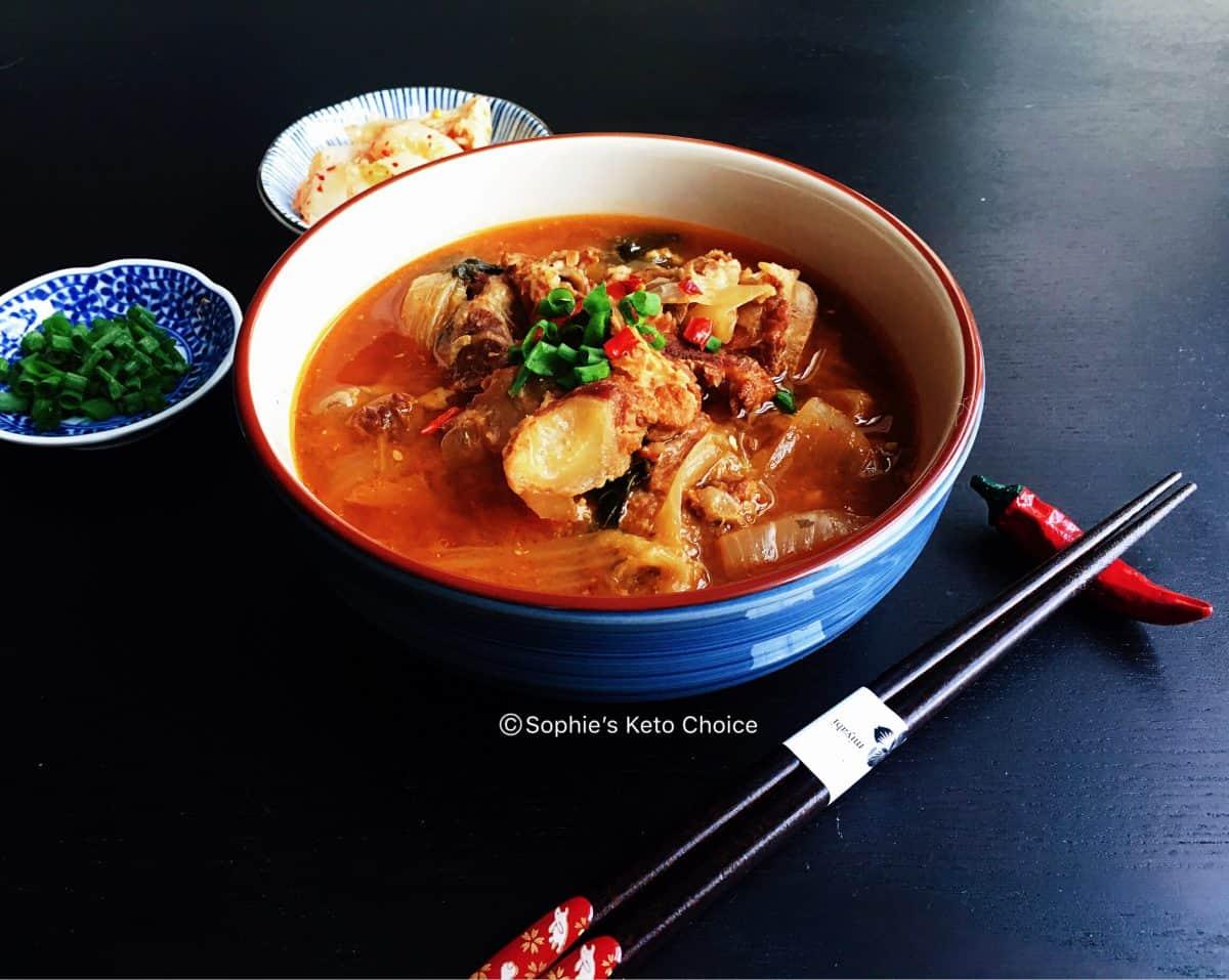 韓國豬骨湯