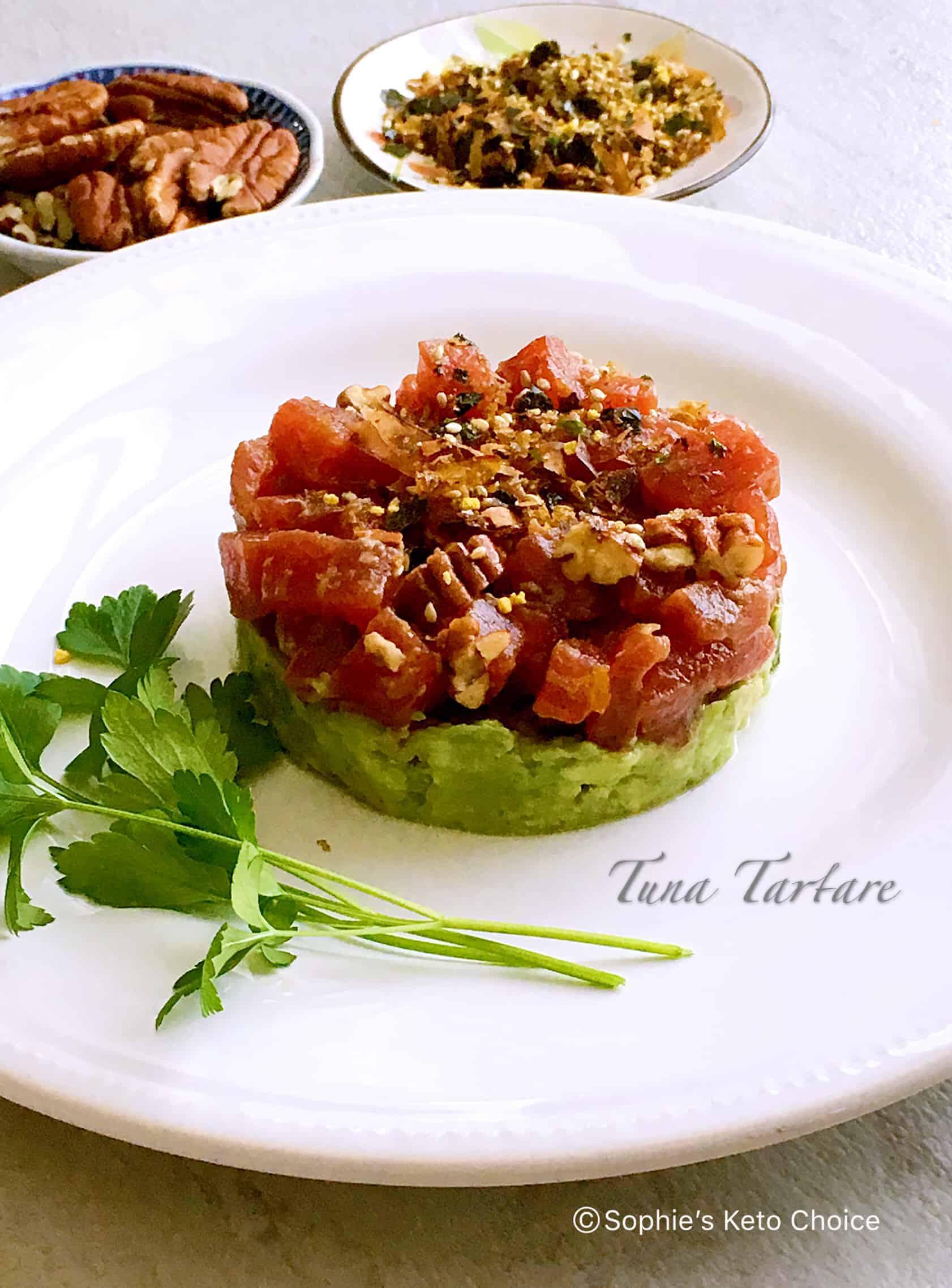 鮪魚塔塔 Tuna Tartare – 精緻日式開胃菜在家也可以輕鬆做