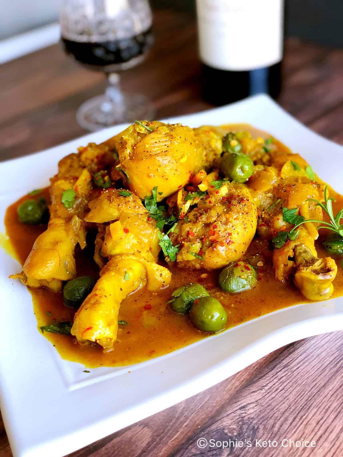 [一鍋到底] 摩洛哥燉雞腿 Braised Moroccan Chicken & Olives