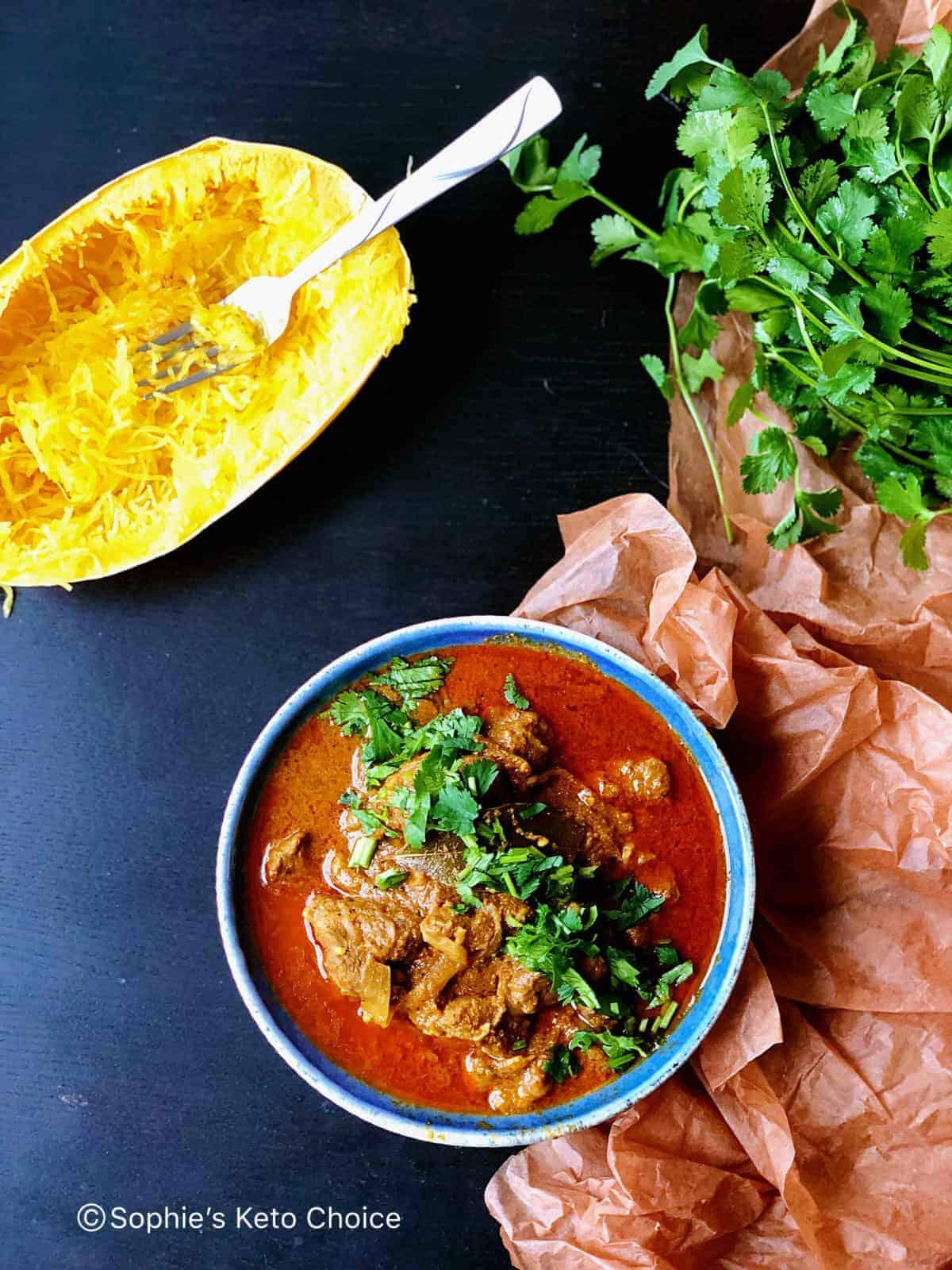[生酮咖哩] 羊肉馬沙拉 Lamb Tikka Masala- 美味印度咖哩(附瓦斯爐、壓力鍋兩種做法)