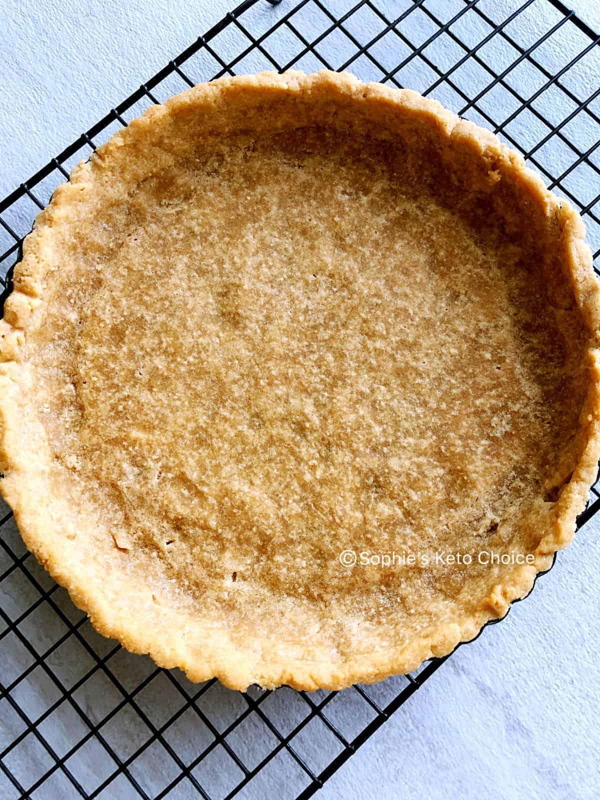 低碳生酮塔皮 Low carb coconut flour pie crust- 椰子粉製作