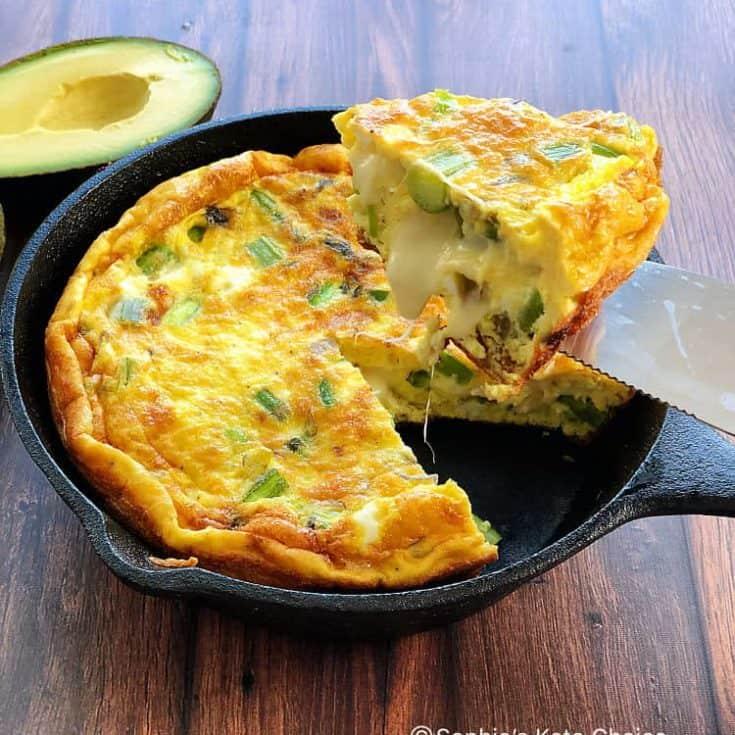 蘆筍培根烘蛋 – 金黃軟嫩-超厚又蓬鬆- 4個技巧燒出完美厚烘蛋