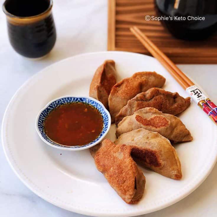 生酮煎餃 Keto Pot Stickers- 生酮吃主食不是夢!泡菜豬肉煎餃