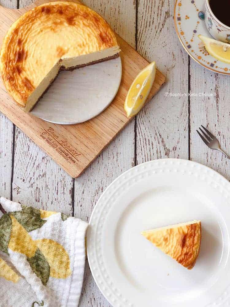生酮檸檬起司蛋糕