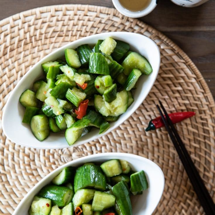 無糖涼拌小黃瓜 -清脆爽口超開胃!用代糖熱量更低更健康!減醣低醣