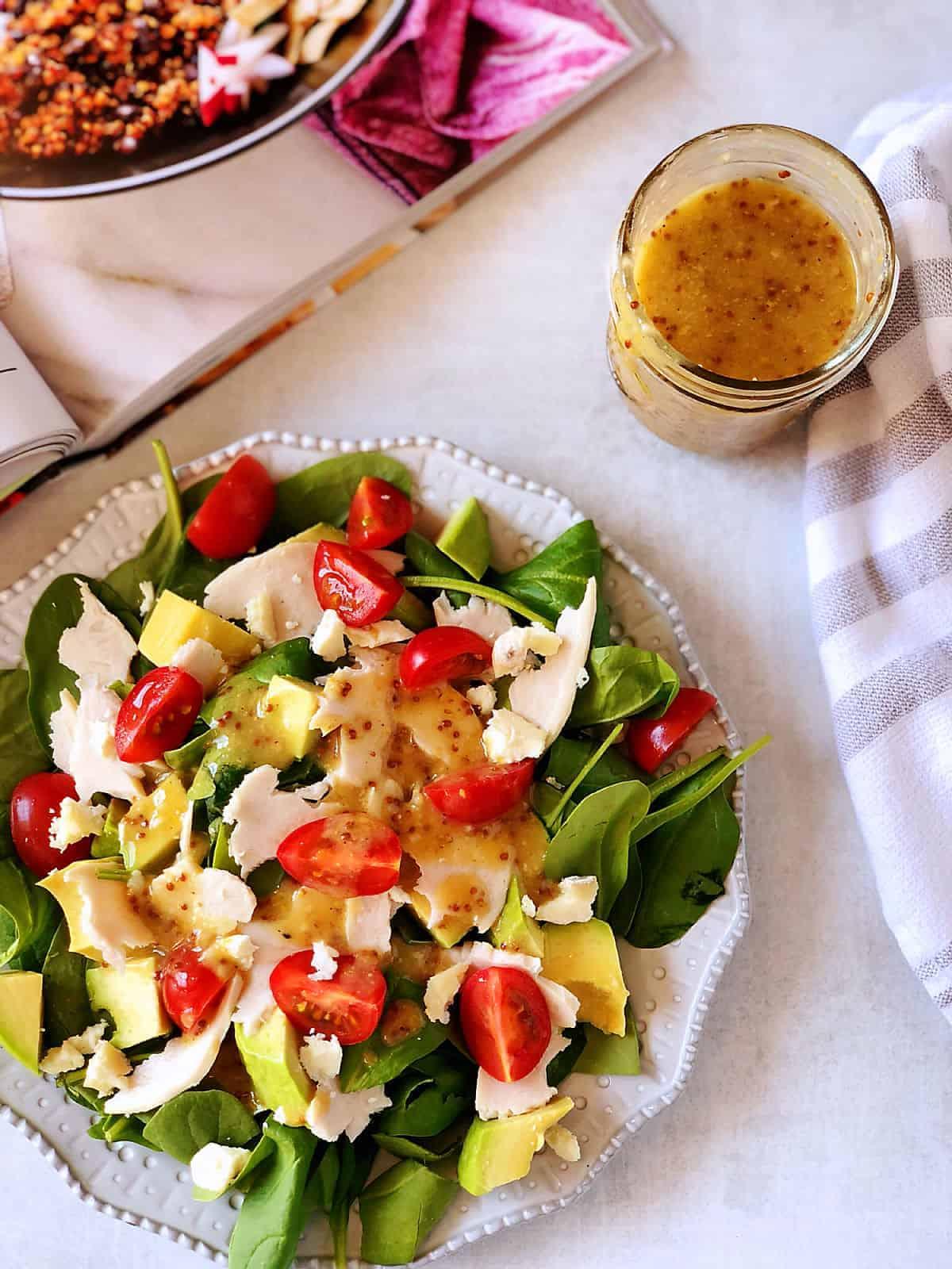 無糖檸檬芥末沙拉醬 -只要5樣材料,搖一搖就完成-無蛋無奶-低碳生酮