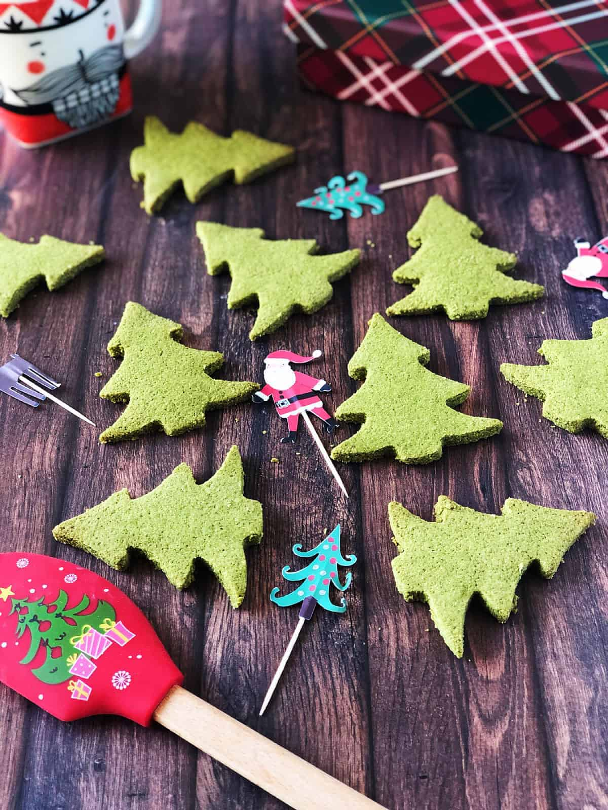 低碳聖誕餅乾 食譜 酥鬆、簡單、無蛋