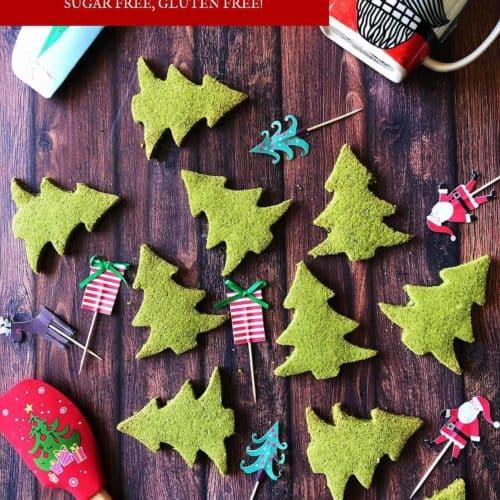 低醣 聖誕餅乾 食譜 酥鬆、簡單、無蛋