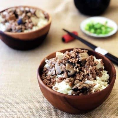 滷香菇豆干肉燥 食譜 壓力鍋 台灣小吃