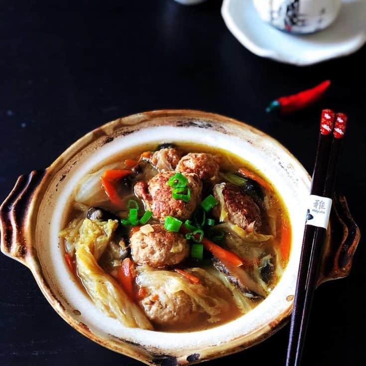 紅燒獅子頭 -應景生酮年菜其實很簡單-讓肉丸軟嫩有秘訣