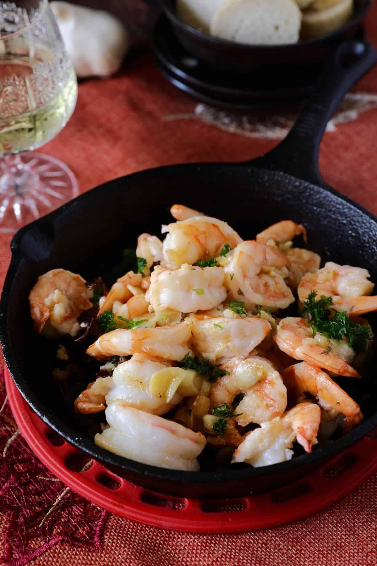 西班牙蒜頭蝦