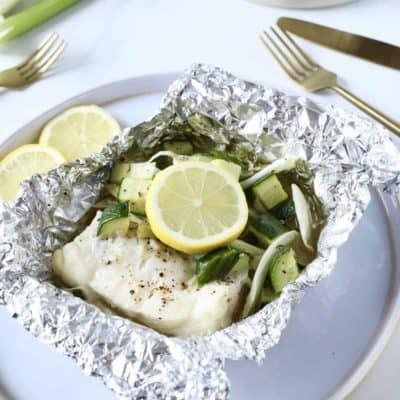 奶油烤鱈魚 15分鐘完成 氣炸鍋、小烤箱適用