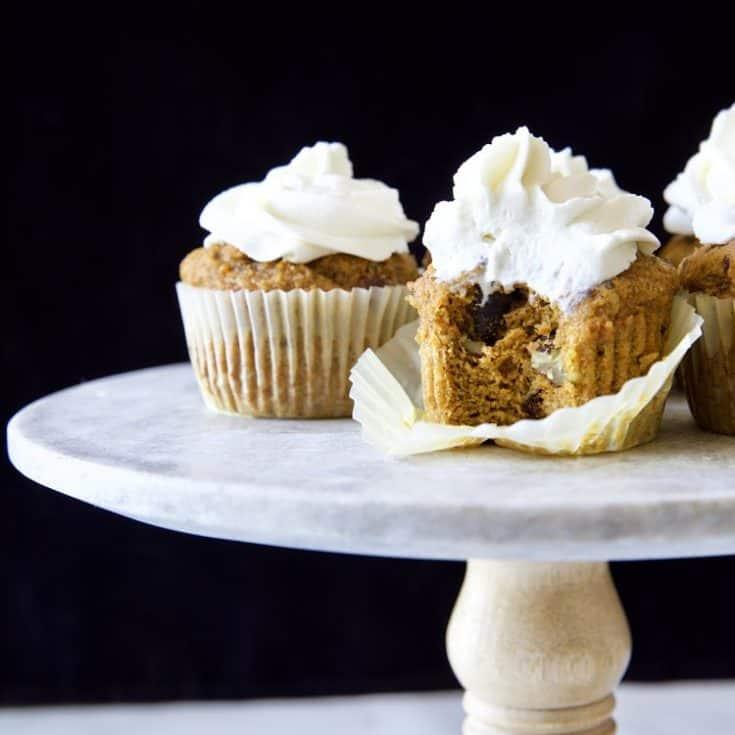 低醣胡蘿蔔杯子蛋糕 -濕潤鬆軟甜蜜蜜-無麩質無堅果無杏仁-保證好吃