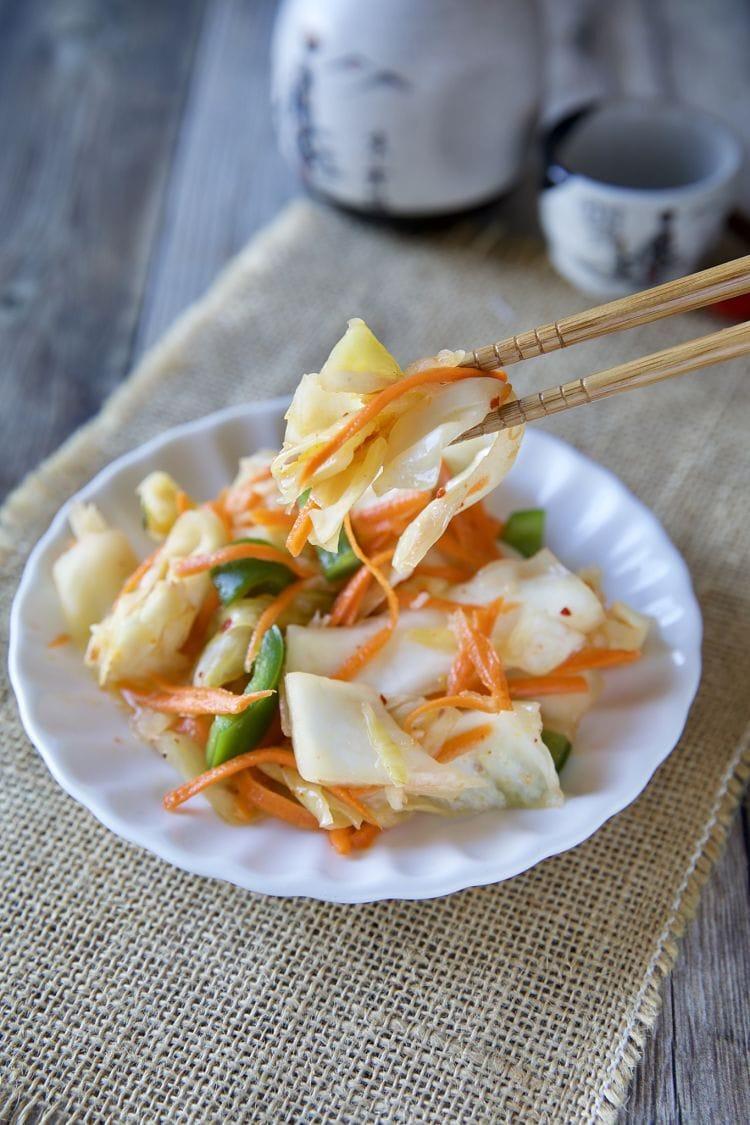 自製無糖台式泡菜