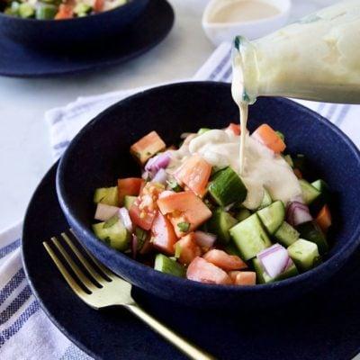 純素沙拉醬