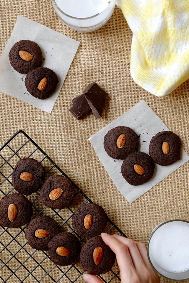 胡桃巧克力布朗尼餅乾