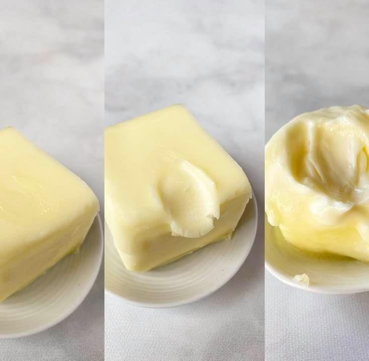 奶油三種不同的溫度與應用 -冰的?室溫?融化?該用在哪種烘焙?