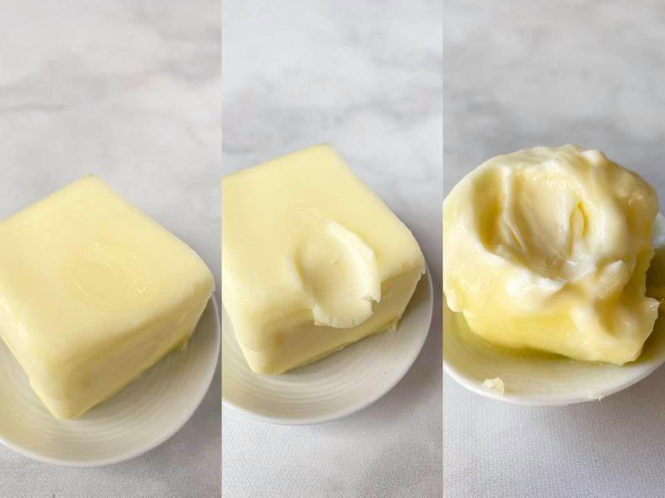 奶油三種不同的溫度與應用