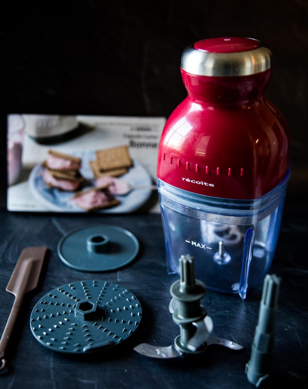 [開箱+實測] 日本麗克特 Bonne萬用食物調理機 -你的最佳廚房小幫手