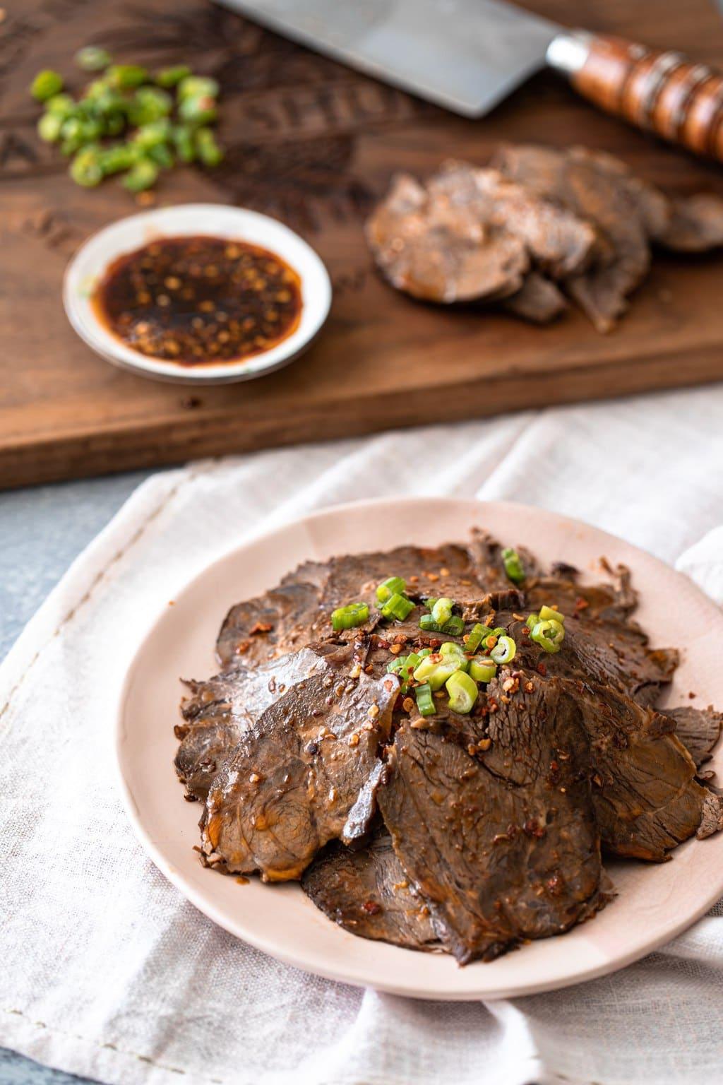 滷牛腱 醬牛肉