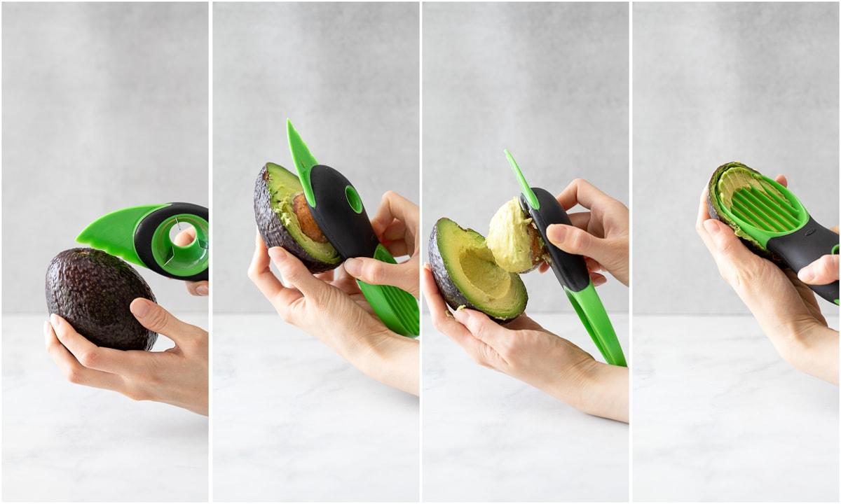 OXO 酪梨切片器 示範切片