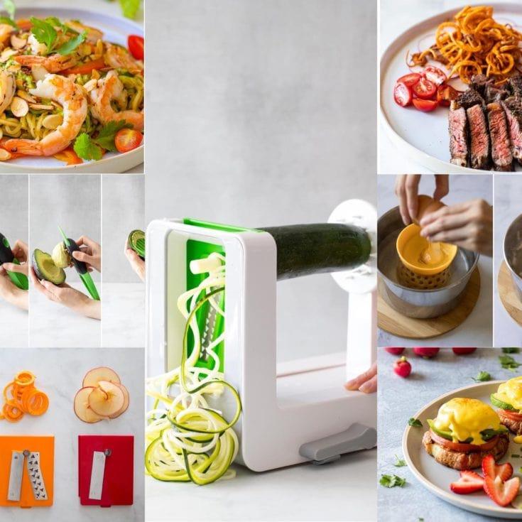 減醣一日菜單 -低醣低卡瘦身料理-OXO蔬菜削鉛筆機&好用廚房小物介紹