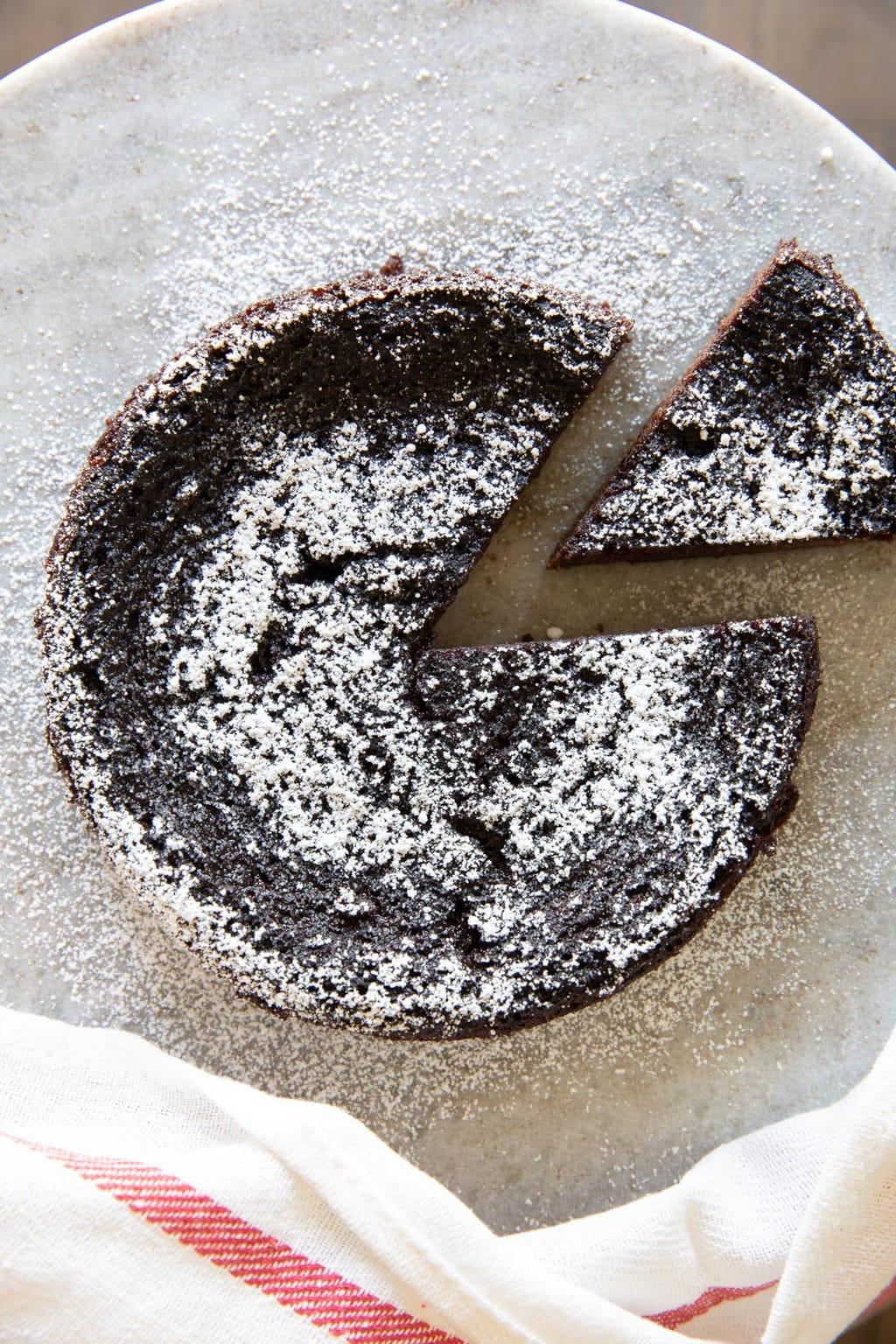生酮巧克力海綿蛋糕