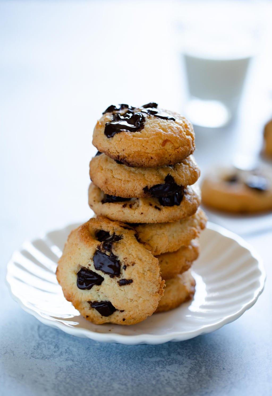 生酮軟心巧克力餅乾
