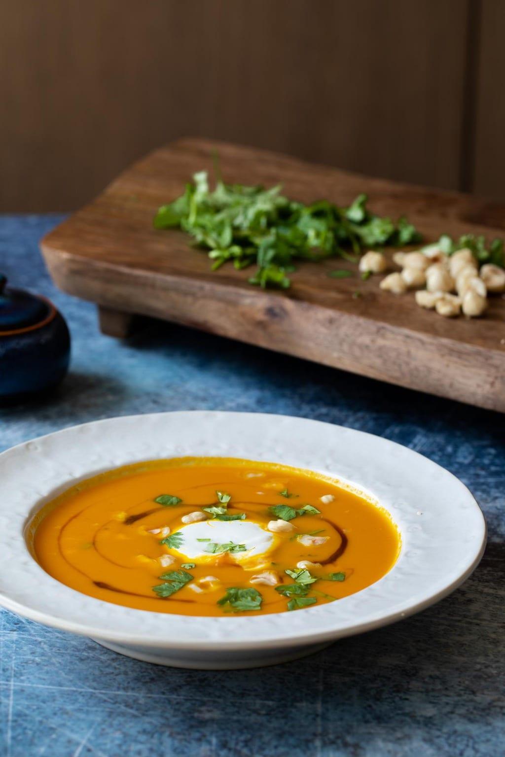 胡蘿蔔濃湯