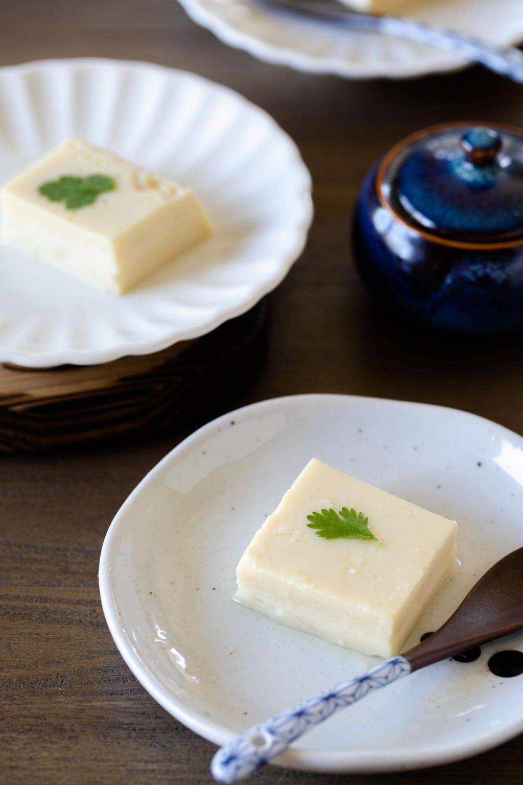 自製雞蛋豆腐 (玉子豆腐) Homemade egg tofu 原來這麼簡單!只要2樣材料