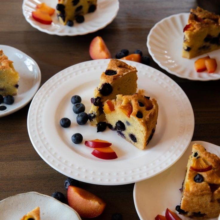 生酮水果磅蛋糕 Keto Fruit Pound Cake 濕潤不乾、無麵粉無糖無麩質
