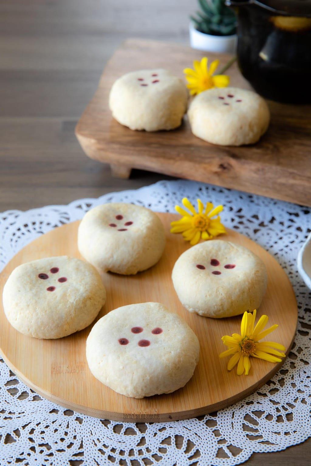 生酮綠豆椪 keto mung bean pastry