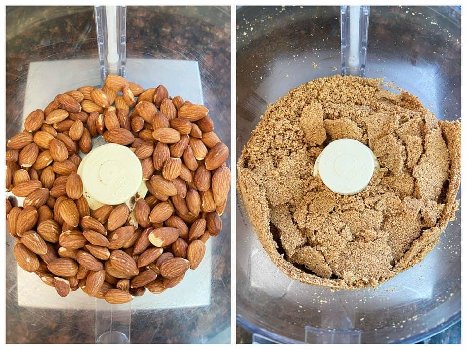 homemade almond butter 自製杏仁醬 杏仁果